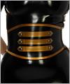 06014 Waist belt with buttons