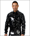 24018 Latex policeshirt with long sleeves, 0,60 mm Latex