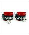 43445 Latex wrist restraints, lockable