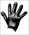 42040 Finger Fuck Textured Glove