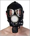 41064 Russische Gasmaske GP7-W - dreieckige Augen