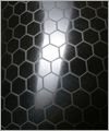 47618 Strukturlatex: Hexagon schwarz