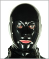 40621 Anatomical system mask with eye an mouth flap