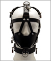 43733 Head harness with muzzle, lockable with 9 locks