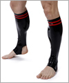 42069 Football socks with double stripes