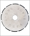 86056 Blade for rotary cutter: 45 mm perforated cut