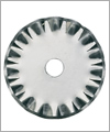 86057 Blade for rotary cutter: 45 mm wave cut