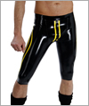 20031 American football pants with contrast piping