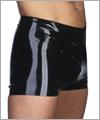 21039 Latex Shorts ohne Reißverschluss