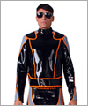 22013 Bikerjacket with padding