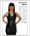 82141 Kalender 2014 - Frau mit schwarzem Top