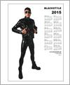 82153 Poster calendar 2015 - Man in biker outfit