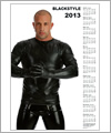 82135 Calendar 2013 - Bad Boy Black Shirt 1