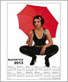 82137 Calendar 2013 - The girl with the umbrella